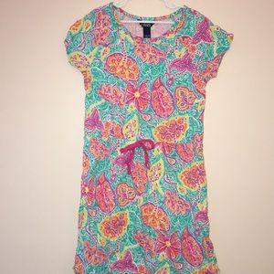 CHAPS floral dress size L (12-14)
